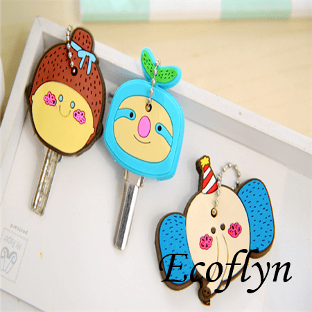 custom rubber key covers free sample in stock silicone key cover key top covers bulk wholesale in China