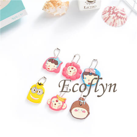 cute key covers free sample soft rubber key top covers in stock low minimum wholesale supply in China