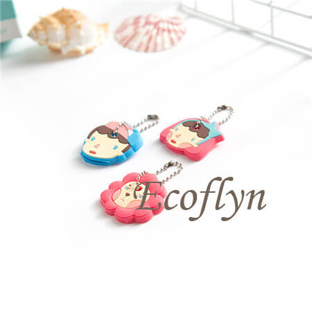 high quality custom bulk soft rubber key cap covers cute key covers in stock wholesale supply in China