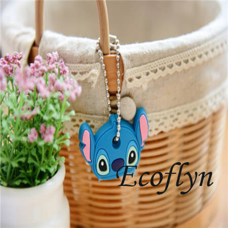 hot sale free sample in stock custom key covers animal key covers cute key toppers kawaii key cover low MOQ bulk supply wholesale in China