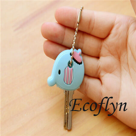 hot sale high quality custom made soft PVC rubber key top covers custom key covers animal key covers cute key toppers in bulk wholesale supply in China