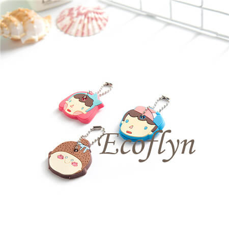 personalized key cover premium quality soft rubber key cap covers free sample cute key covers in bulk wholesale
