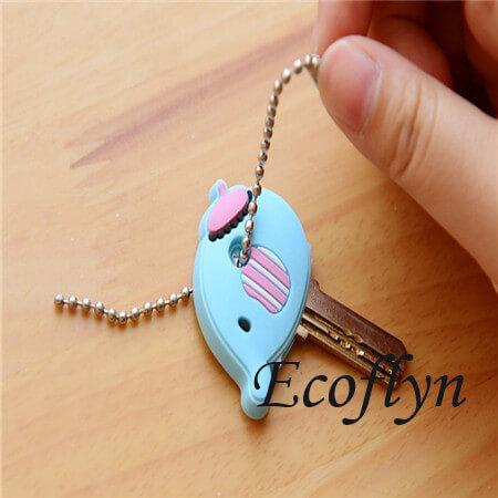 premium quality soft PVC rubber cool key covers key top covers custom key covers animal key covers in bulk wholesale