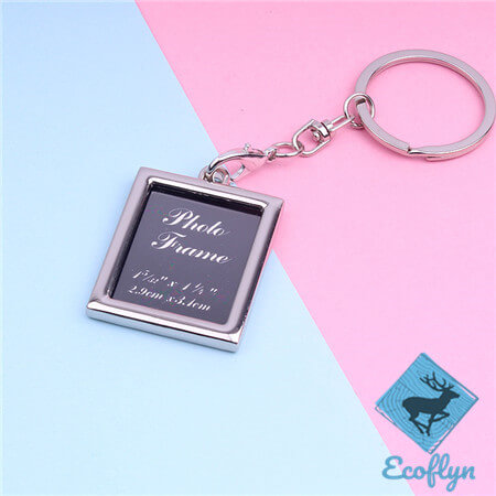 high quality photo frame keychains custom picture keychains engraved photo keychain personalised photo keychains in bulk wholesale supply in China