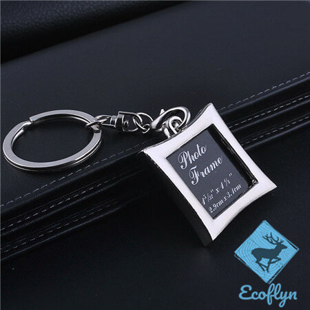 personalized premium quality engraved picture keychain metal photo keychain photo keychain bulk custom photo keyrings in bulk wholesale supply in China