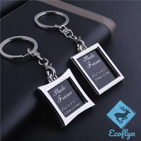 premium quality free sample photo frame keychains in stock photo keychain picture keyring personalized picture keychains low minimum wholesale in China