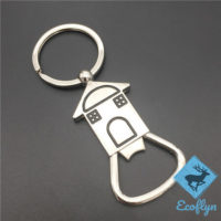 free sample in stock promotional metal custom house keychains new home keyring first home keyring house shaped keychains low MOQ bulk wholesale supply in China