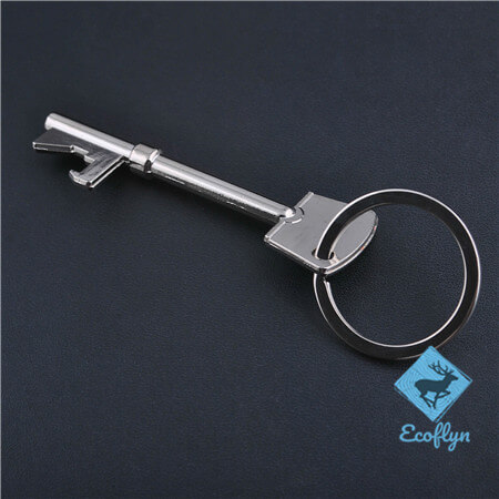 high quality custom promotional metal keyrings key keychain key shaped keyring low MOQ wholesale in China