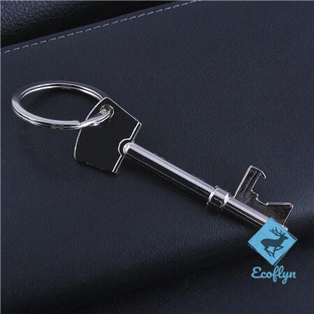 personalized promotional key keychain key shaped keyring low minimum bulk wholesale in China